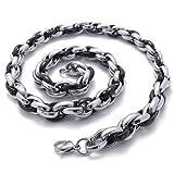 Best KONOV Fashion Jewelry Of 2 Tones - Konov Jewelry Two Tone Polished Stainless Steel Mens Review