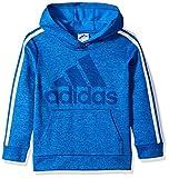 adidas Boys' Big Athletic Pullover Hoodie, Royal Heather L (14/16)