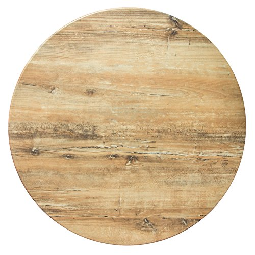 Duratop 42'' Round Table Top in Rustic (Round Tabletop Restaurant Tables)