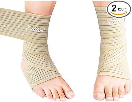 Amazon Com Luwint High Elasticity Compression Bandage Ankle