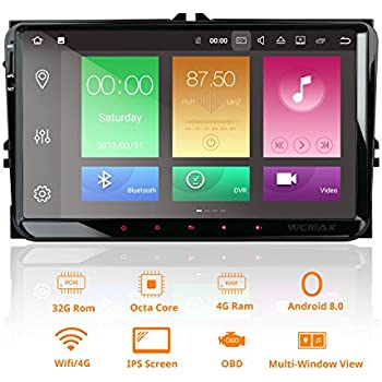Amazon.com: Android 8.0 Car Stereo Double 2 Din 9 Inch Capacitive ...