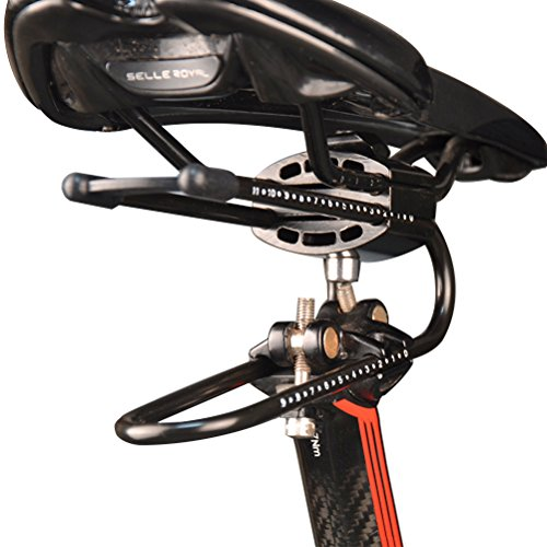 Vankcp Bicycle Shock Absorber- Bicycle Saddle Alloy Spring Steel Suspension Device, Road Bike Seat Shock Absorber Cycling Parts by Vankcp (Image #4)