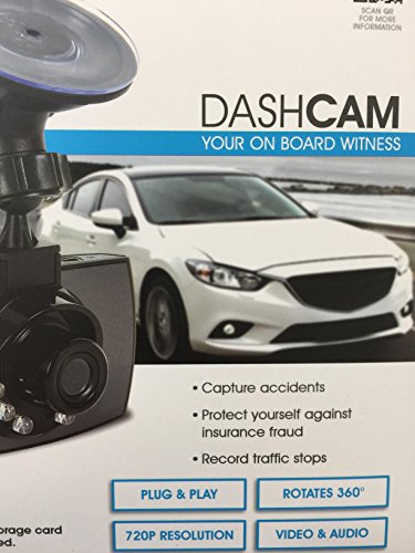 Pilot DashCam Auto Camera CL 3033WK