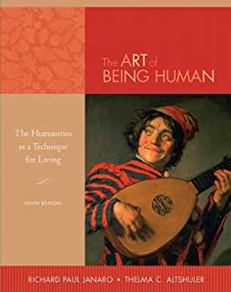 Art of being human, the (9th edition), author: richard janaro.