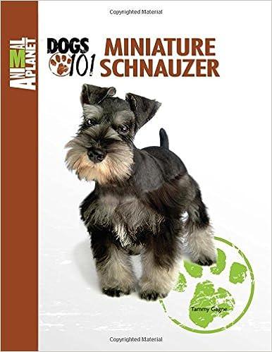 Standard schnauzer dog books