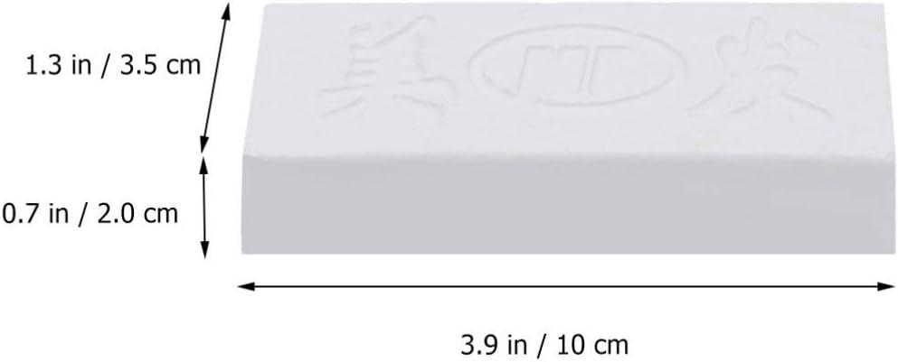 Healifty P/âte /à polir Compos/é pour Polissage de Cuir Strop pour Accessoires Abrasifs de Jade