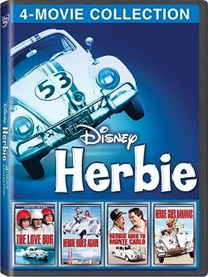 Disney 4-Movie Collection: Herbie (Love Bug/Herbie Goes Bananas/Herbie Goes To Monte Carlo/Herbie Rides Again)