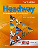 New Headway Pre - Intermediate Fourth Edition Students Book and Itutor Pack