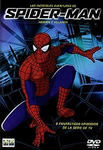 Increibles Aventuras De Spiderman: Heroes Y Villanos,Las [DVD]