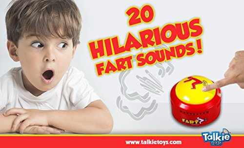 Fart Button (New and Improved — Farts ONLY Version)