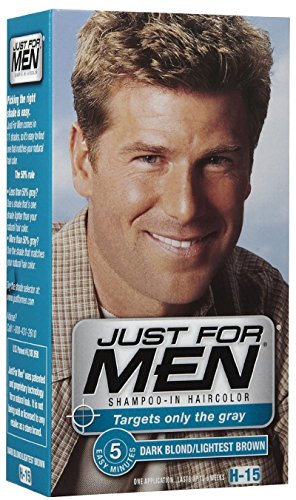 JUST FOR MEN Hair Color H-15 Dark Blond 1 Each (Pack of 12) by COMBE INCORPORATED