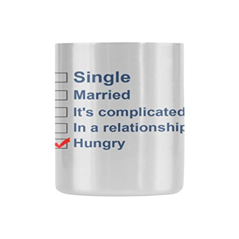 Amazon.com | Funny Quotes Single Married It\'s complicated In ...