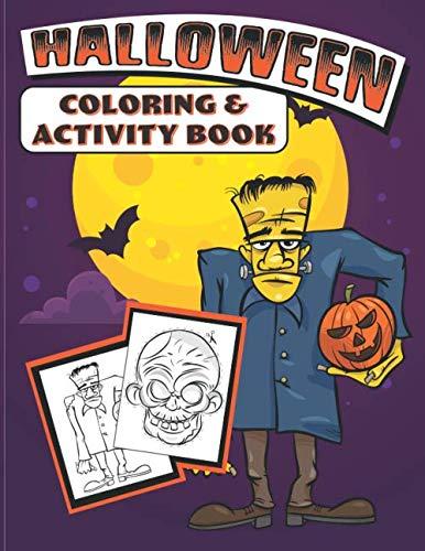 Halloween Coloring & Activity Book]()