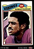 #10: 1977 Topps # 359 Ahmad Rashad Minnesota Vikings (Football Card) Dean's Cards 4 - VG/EX Vikings