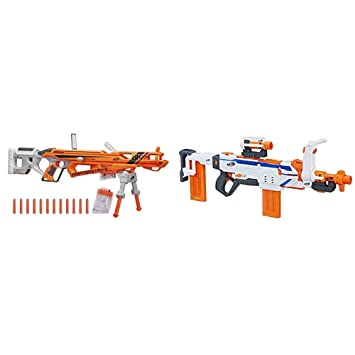 Nerf N-Strike Elite AccuStrike RaptorStrike with Nerf Modulus Regulator  Bundle