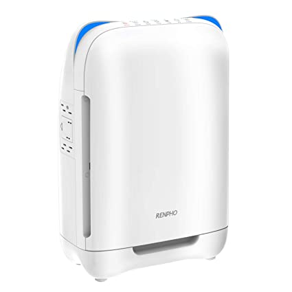 Amazon.com: RENPHO Air Purifier for Home Large Room,HEPA Filter Air ...
