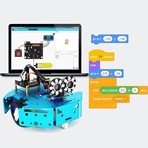 KittenBot Basic Robot kit - DIY Robot, STEM Toy, Scratch 3 0