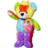 Vobell Cuddly Stuffed Animals Plush Teddy Bear Toy Doll Rainbow King 31inch