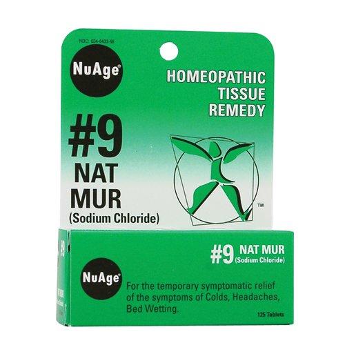 Hyland's Nuage Natrum Mur Medication, 125 Count