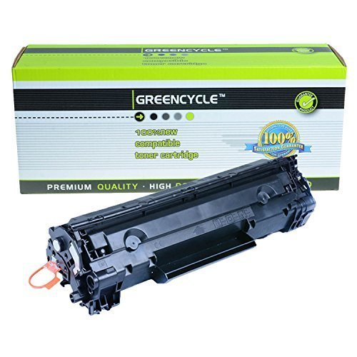 GREENCYCLE ® Replacement For Canon 126 (3483B001) Black Toner Cartridge ImageClass LBP-6200