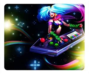 League Of Legends Arcade Sona Rectangle Mouse Pad by ieasycenter
