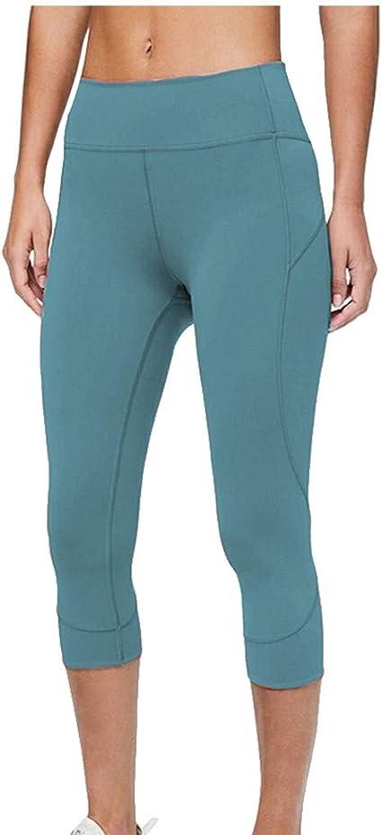 Pantalones Leggins Deportivos Para Dama Capri Para Yoga De Tres Cuartos Ropa Especializada Ropa Tecnica