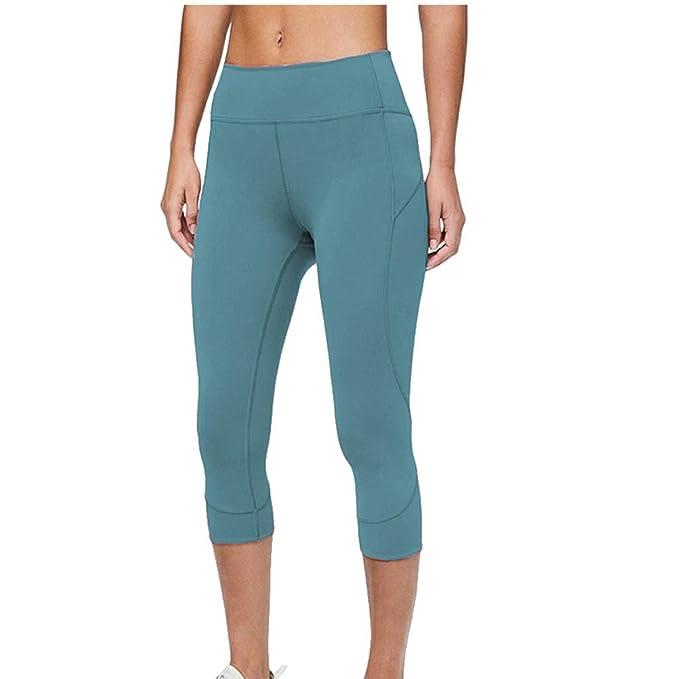 Pantalones de correr para mujer Yoga Power Flex Pantalones ...