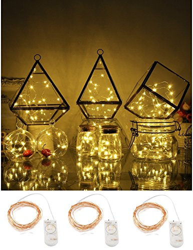 [3 Sets Fairy String Lights Battery Operated 7.2ft(2.2M) 20 Leds LED Moon Lights Starry String Lights For Wedding Centerpiece Dinner Party Decoration, Fairy Dress Costume] (Cool Quick And Easy Costumes)