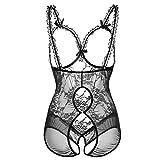 Gergeos One-Piece Erotic Underwear Women's Lace Sexy Lingerie Sleepwear Underwear Babydoll Nightwear