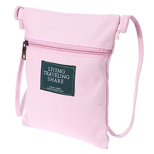 Bag Widewing Color Shopping Square Zipper Bag Solid Shoulder Reusable Leisure Pink Tote WyvUHzay