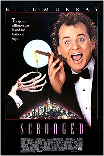 Image result for scrooged poster