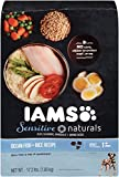 IAMS Sensitive Naturals Adult Ocean Fish and Rice Recipe Dry Dog Food 17.2 Pounds