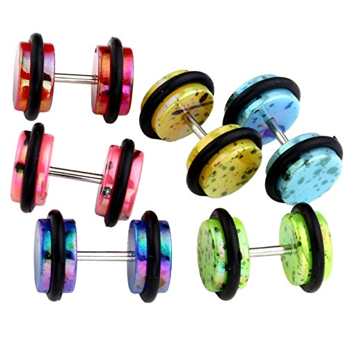 Top Plaza Colorful Illusion Piercing