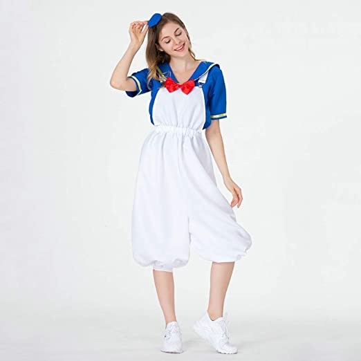 YyiHan Cosplay Disfraz, Anime de la Marina Marinero Traje de ...