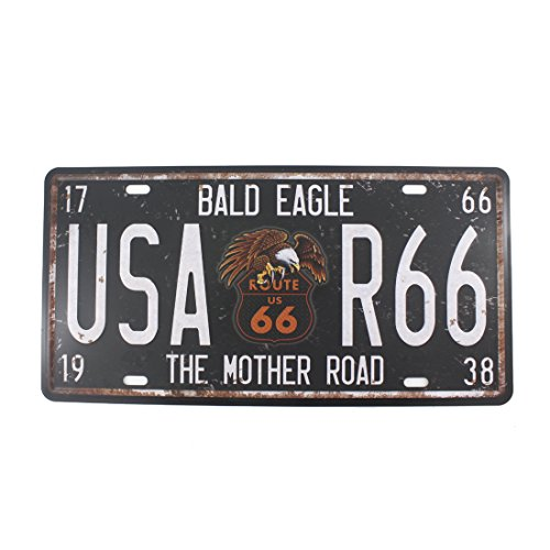 6x12 Inches Vintage Feel Home,bathroom,shop and Bar Wall Decor Souvenir Metal Tin Sign Poster Plaque (ROUTE 66 THE MOTHER (Route 66 Halloween)