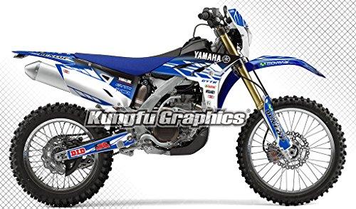 [해외]Kungfu Graphics 2012 2013 2014 2015 야마하 WR450F 그래픽 데칼 키트/Kungfu Graphics 2012 2013 2014 2015 Yamaha WR450F Complete Graphic Decal Kit
