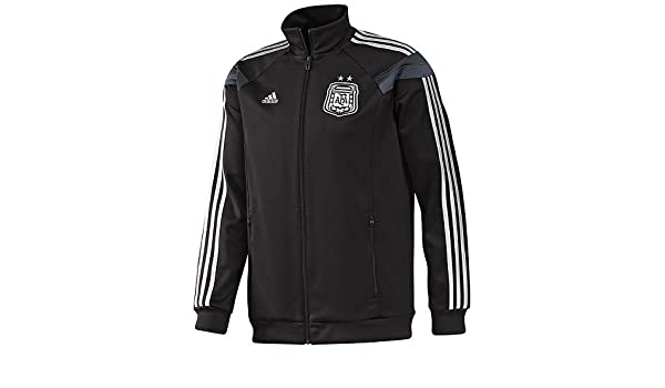 Amazon.com: adidas Mens Soccer Argentina Anthem Track Top World Cup 2014: Clothing