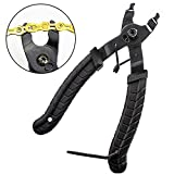 Bike Chain Pliers, Bicycle Chain Plier Missing Link Opener Closer Remover Plier/Bike Chain Tool Compatible with All Speed Chains Repair, Link