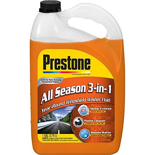 Prestone AS658P All Season 3-in-1 Year Round Windshield Washer Fluid