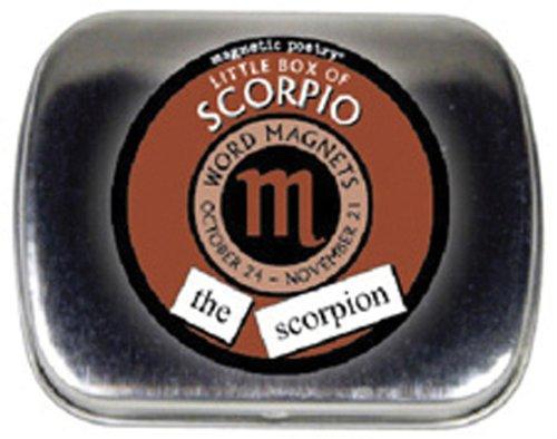 Magnetic Poetry Little Box of Zodiac - Scorpio Magnetic Poetry