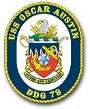 "US Navy Ship USS Oscar Austin DDG-79 Decal Sticker 5.5"""