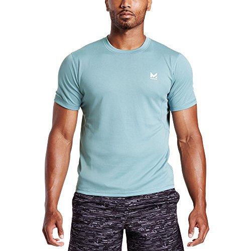 Mission Mens VaporActive Alpha Short Sleeve Athletic Shirt, Citadel, XXX-Large