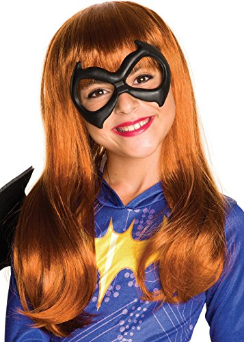 Halloween Wigs Dc (Rubie's Costume Girls DC Super Hero Batgirl)