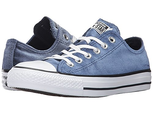 Converse Chuck Taylor All Star - Ox Velvet Midnight Navy White White Women s  Lace up Casual Shoes  Amazon.in  Shoes   Handbags 8566033c4