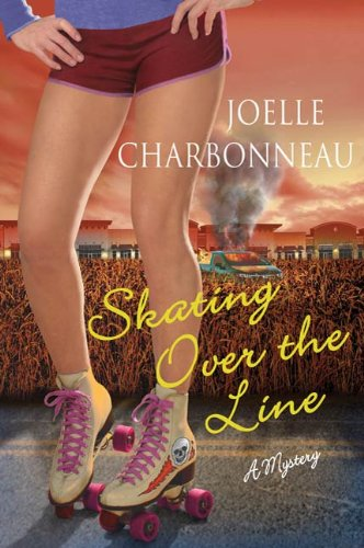 Skating Over the Line: A Mystery (Rebecca Robbins Mysteries Book 2)