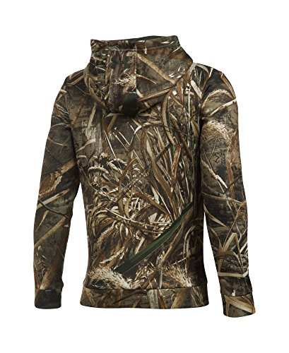 Under Armour Boys' Icon Camo Hoodie, Realtree Max 5 (900), Youth Large