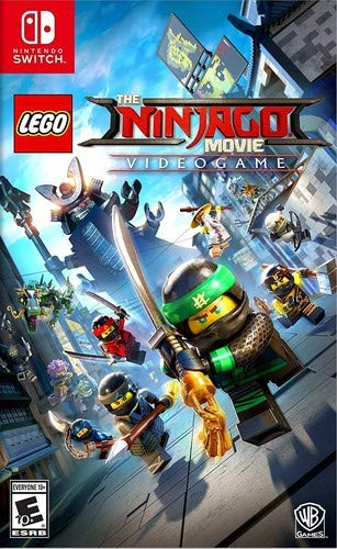 - The Lego Ninjago Movie Videogame - Nintendo Switch
