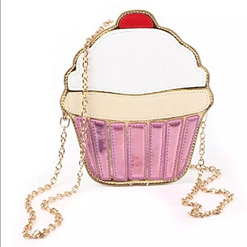 Women Cupcake Cute Kids Cute Cross Cross Cupcake Body Handbag for Handbag Body RvTAn66