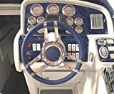Isotta CARLOTTA 13-3/4'' Steering Wheel - Blue