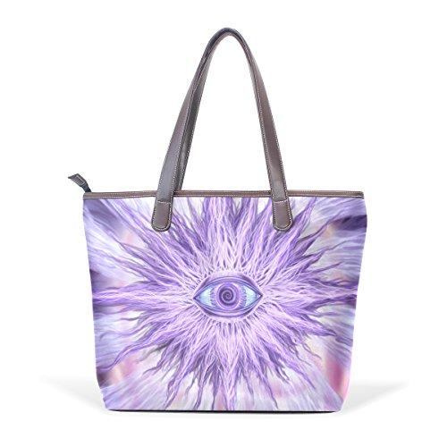 COOSUN - Bolso al hombro para mujer Multicolor#003 L(33x45x13)cm Multicolor#001